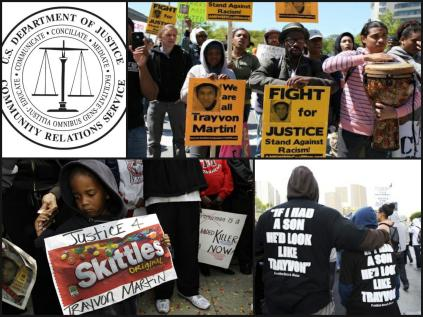 Obama's Justice Department Organized and Managed Trayvon Martin Protests Collage