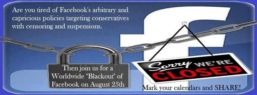 boycott Facebook August 25