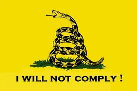 gadsden flag i will not comply