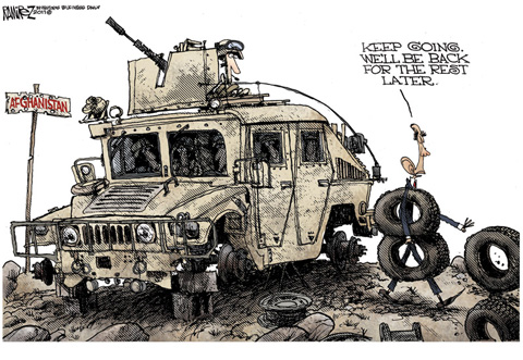 gutting-military michael ramirez