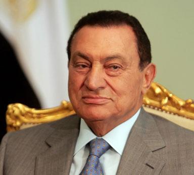 hosni mubarak former egyptian president