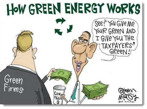 obama-economy-jobs-debt-deficit-political-cartoon-how-green-energy-works