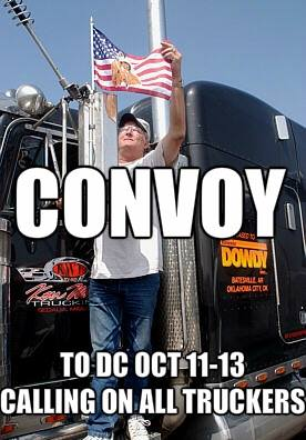 Calling all truckers to DC October 11 to 13 2013