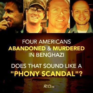 Does Benghazi sound like a phony scandal