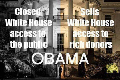 Obama closes white house to public open to elitists and lobbyists