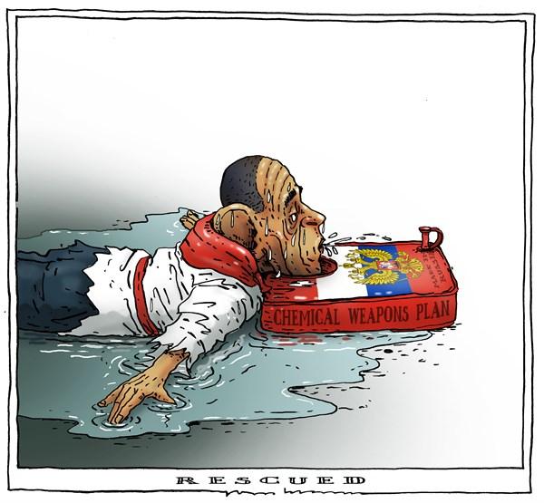 Obama rescued