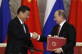 Russia President Vladimir Putin China president Xi Jinping