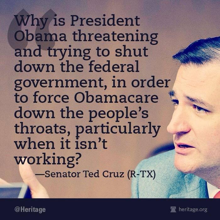 Ted Cruz Quotes New Progressive Republican Establishment's War On Ted Cruz Will Be To