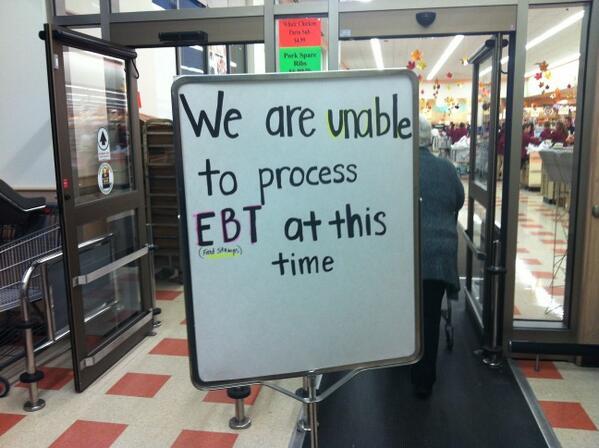 EBT Cards Not working