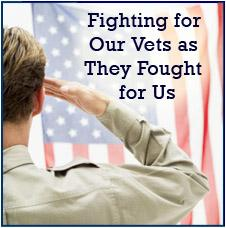 fighting for the vets as they fought for us