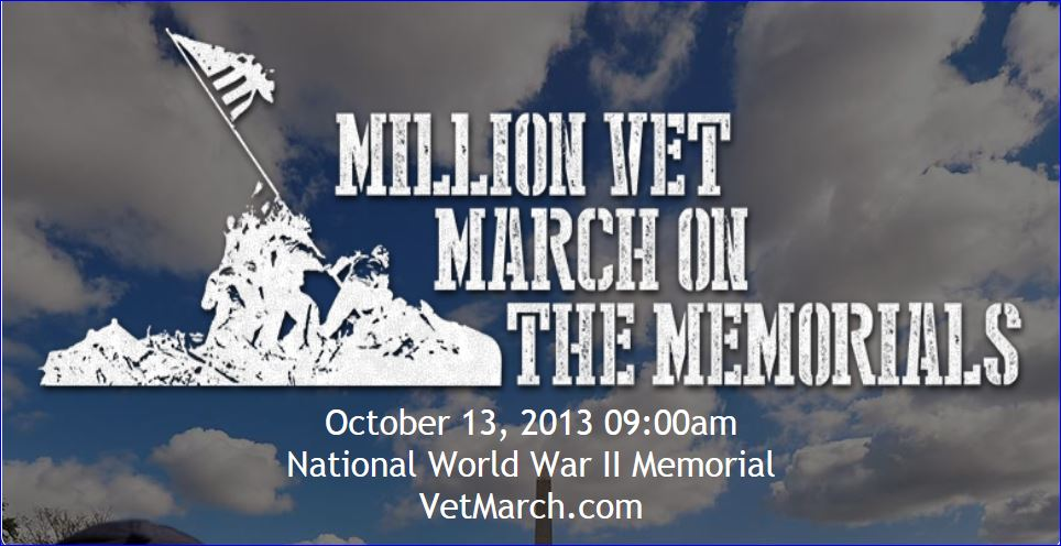 million vet march on the memorials 002