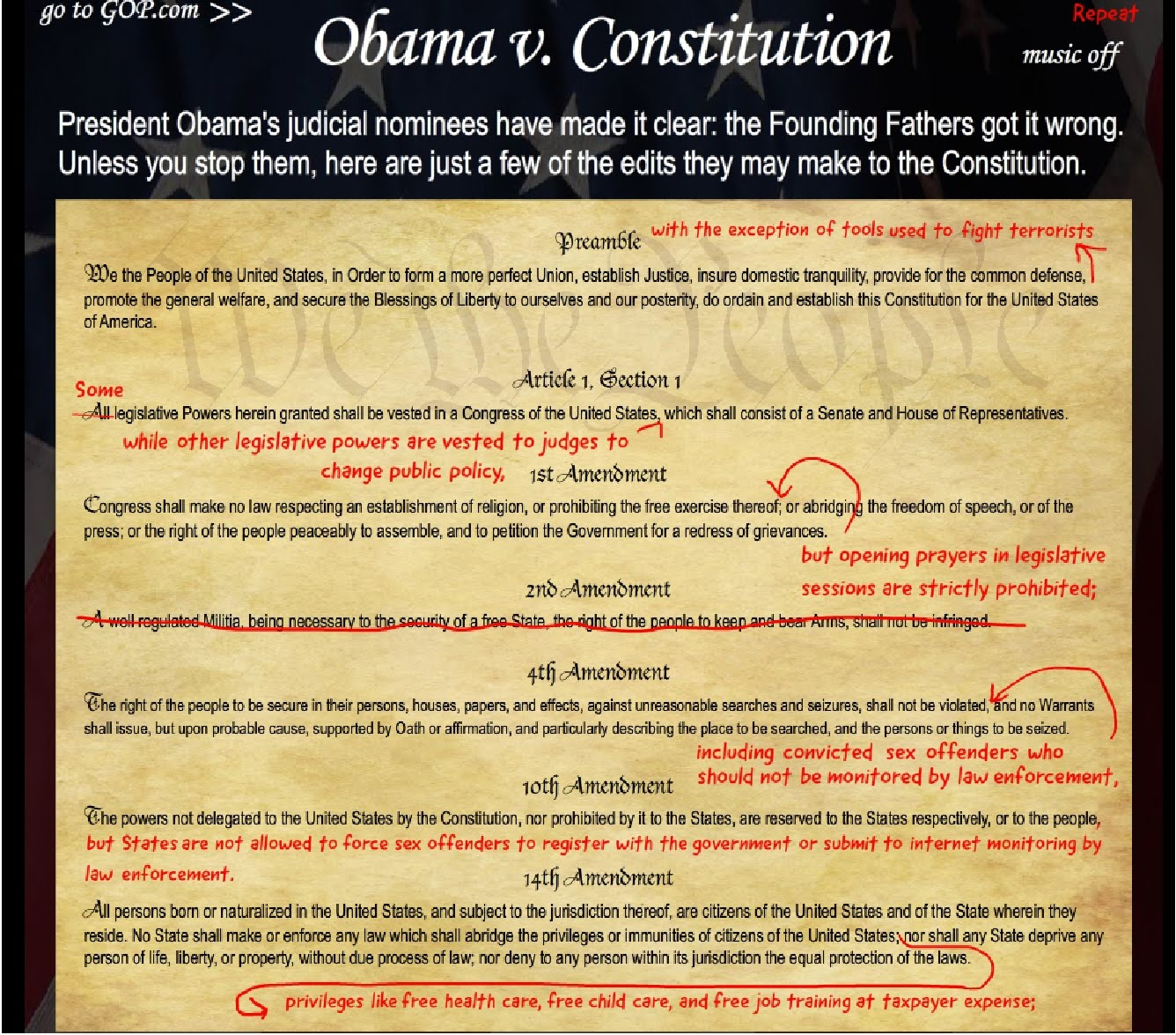 """obama thesis constitution Obama leaves the constitution weaker than at the beginning of his terms"""" epps labels obama's posture to be one of """"aggressive compliance,""""."""