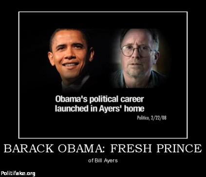 Barack Obama Bill Ayers Politifake