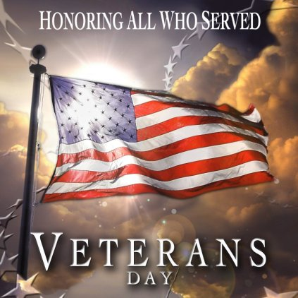 Honor all who served Veterans Day