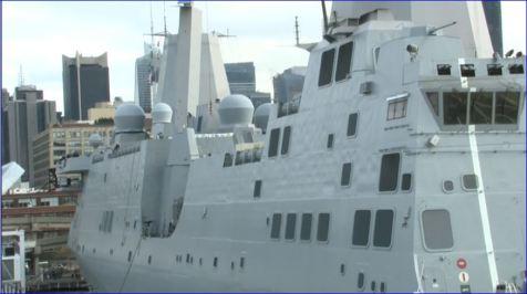 Screenshot USS New York returning to NYC Veterans Week 11082013 002