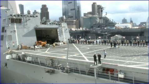 Screenshot USS New York returning to NYC Veterans Week 11082013 003
