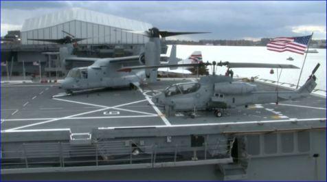Screenshot USS New York returning to NYC Veterans Week 11082013 004