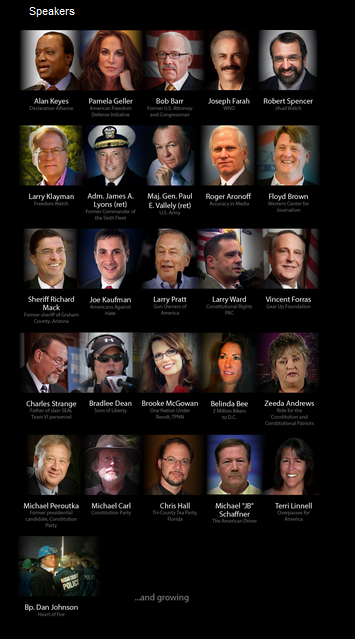 Speakers of Reclaim America Now March on Washington, DC November 19 2013 screenshot