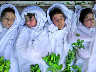 Syrian Christian children murdered by Islamists