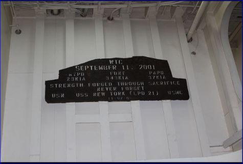 612 Metal from World Trade Center – Image courtesy of  Ken Kraetzer, Flickr.