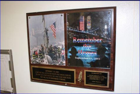 649 9-11 Plaque – Image courtesy of  Ken Kraetzer
