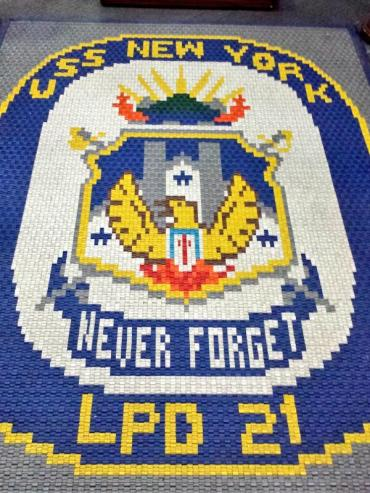USS New York Memorial 911 Never forget