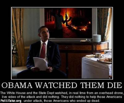 Benghazi Obama Watched Them Die