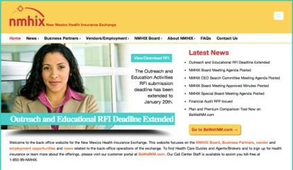 New Mexico Healthcare exchange site