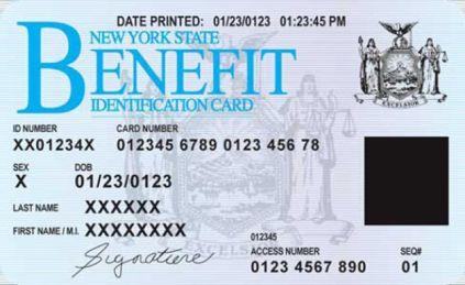 NYS EBT card