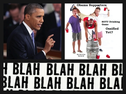 Obama brosurance Ossified SOTU Drinking Game Collage