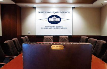 Obama empty chair