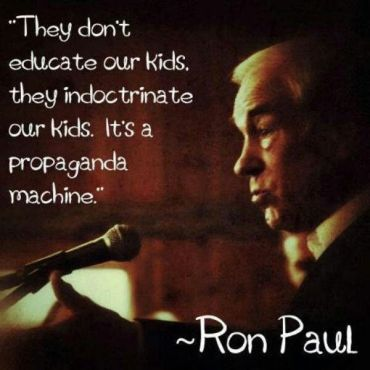Ron Paul Indoctrination quote