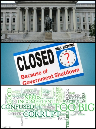 Treasury Department Federal Government Incompetence Shutdown