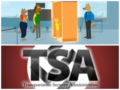 TSA Police State Collage