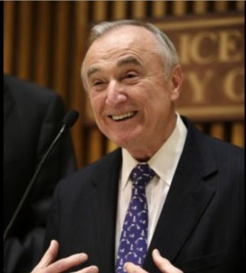 William Bratton, NYPD Police Commissioner and architect of controversial stop-and-frisk policing tactic during his 2002 to 2009 tenure as head of the Los Angeles Police Department