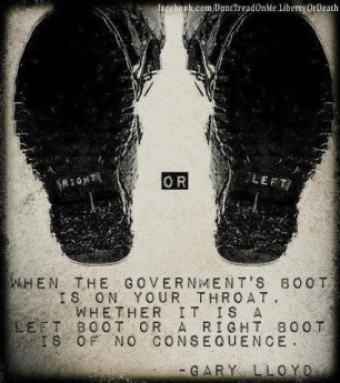 government jackboot