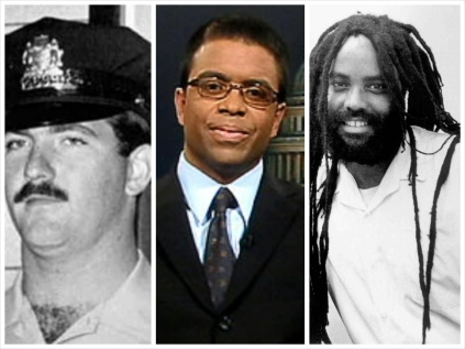 Police Officer Daniel Faulkner murdered in 1981 (left), Debo P Abegile (center), Obama nominee and advocate for cop killer Mumia Abu Jamal (right).