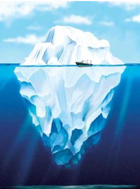 screenshot titanic iceberg graph