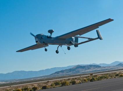 UAV MQ-5B Hunter drone.  Photo: Northrop Grumman.