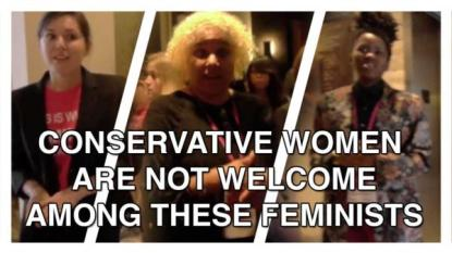CONSERVATIVE-WOMEN not welcome at feminist conference