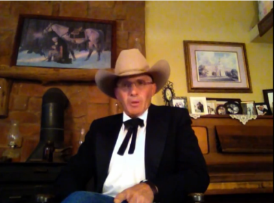 Screenshot debunking lies about Bundy Ranch Standoff