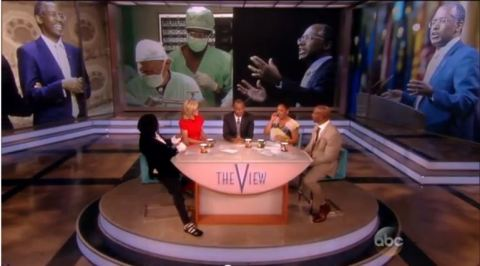 dr ben carson the view 05202014