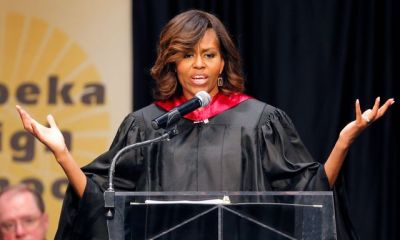 Michelle Obama Topeka Kansas graduation 05182014