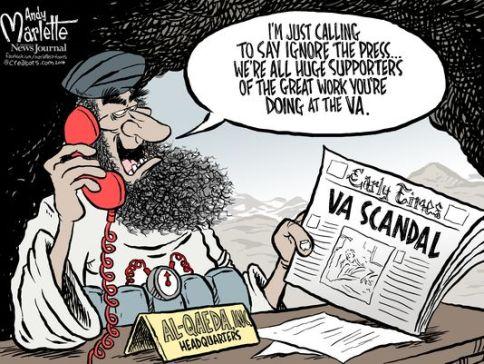 Obama handling VAs Andy Marlette
