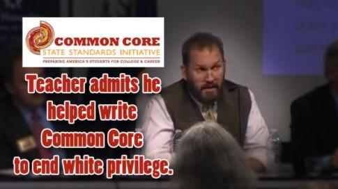 Teacher helped write Common Core to end white guilt