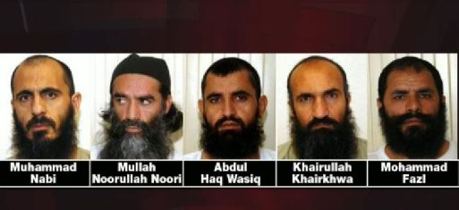 5 Jihadists released in Obama prisoner swap