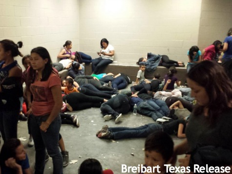 children flooding the border into usa Brownsville texas 003