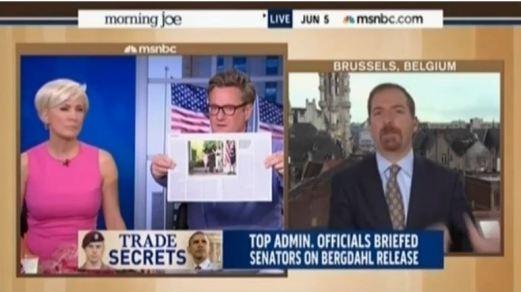 MSNBC Chuck Todd Joe Scarborough argument
