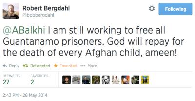 Robert Bergdahl tweet free-guantanimo-prisoners-tweet-zigler