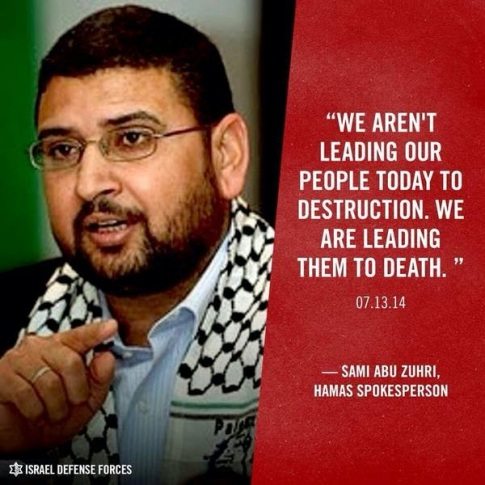 Hamas leading its people to death